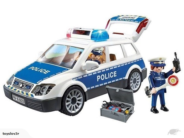 Playmobil: Police Car with Lights and Sounds