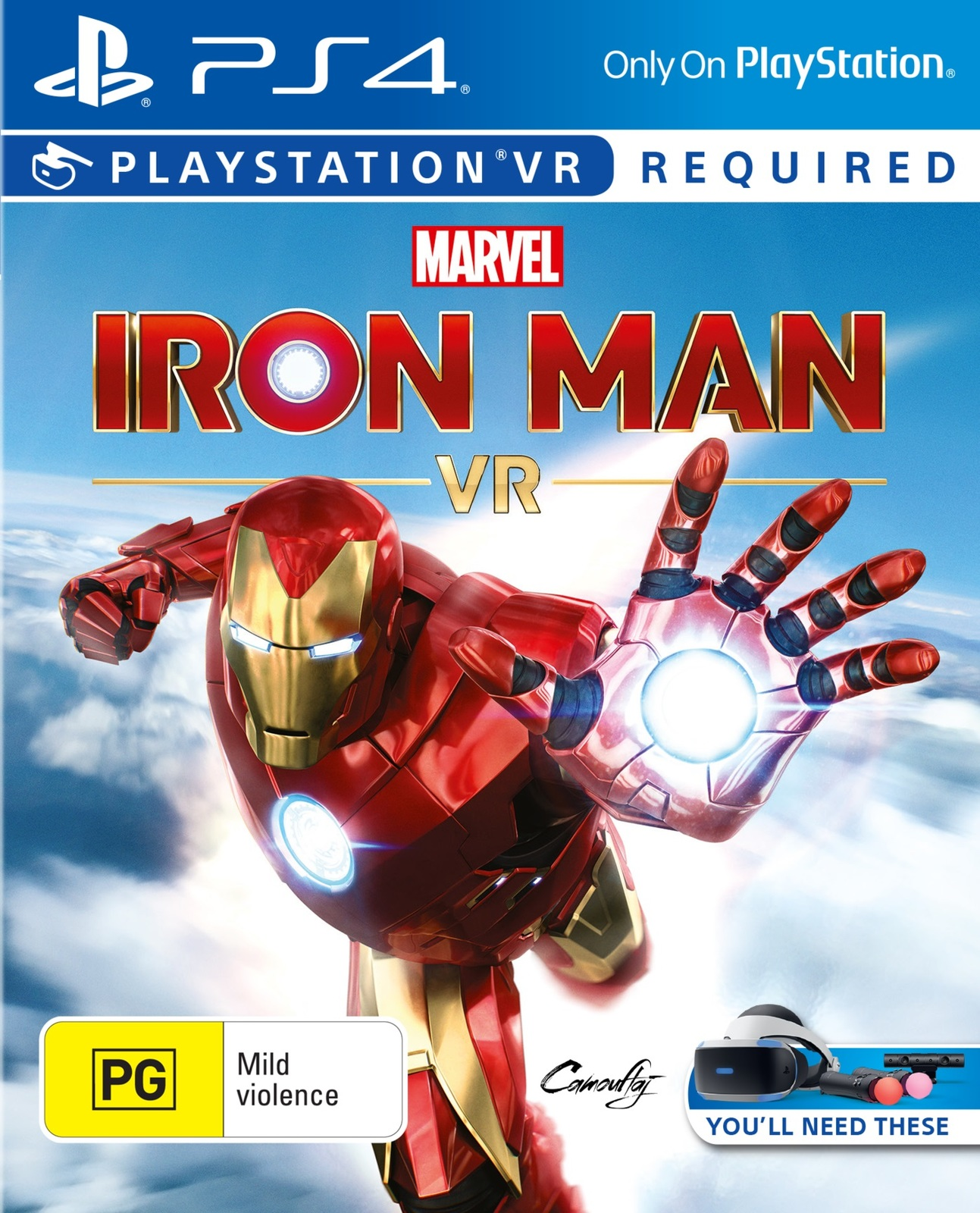 Marvel's Iron Man VR for PS4 image