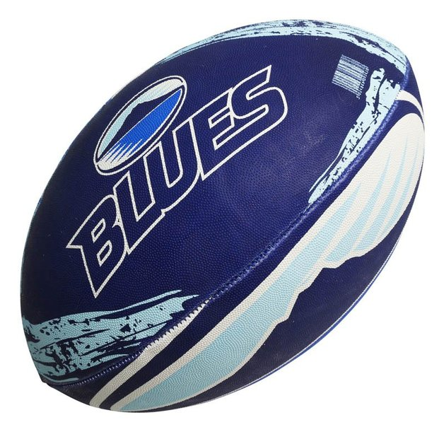 Gilbert Super Rugby Supporter - Blues (Size 5)