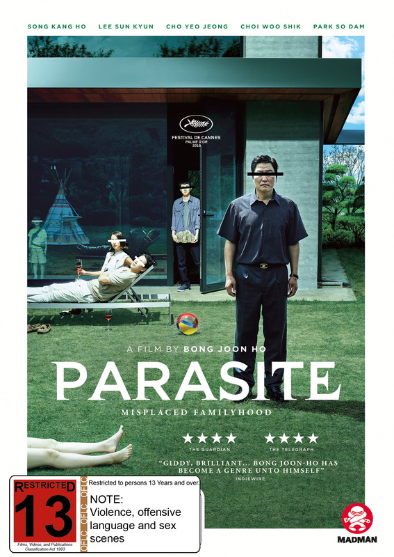 Parasite on DVD