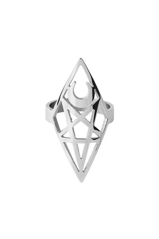 Killstar: Isma Ring - Silver (US 6)