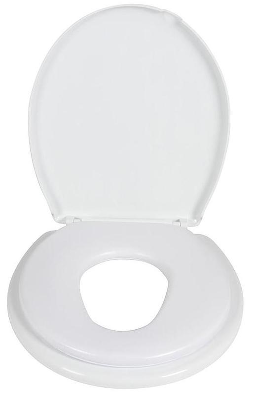 Childcare: 2 in 1 Toilet Trainer - White
