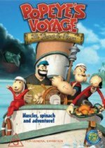 Popeye's Voyage - The Quest For Pappy on DVD