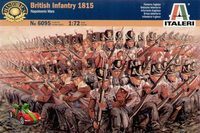 Italeri British Infantry (Napoleonic Wars 1815) 1:72 Model Kit