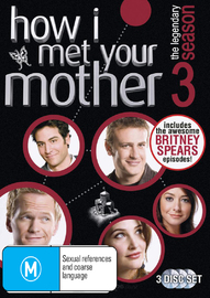 How I Met Your Mother - Season 3 (3 Disc Set) on DVD