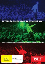 Peter Gabriel - Live In Athens 1987 DVD