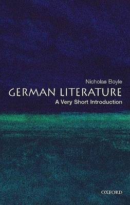 German Literature: A Very Short Introduction by Nicholas Boyle image