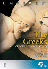Empires: The Greeks - Crucible of Civilisation on DVD