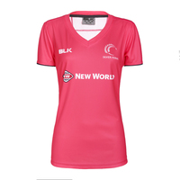 Silver Ferns Ladies Training Tee - Melon (Size 6)