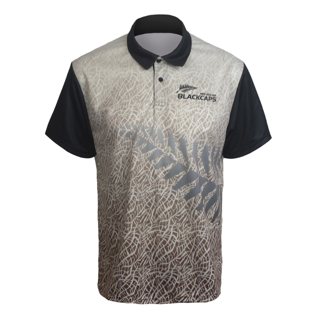 Blackcaps Sublimated Polo - L