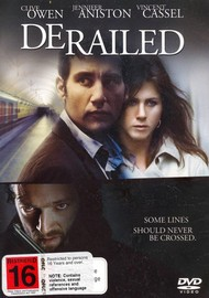 Derailed on DVD image