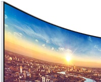 """34"""" Samsung 1440p 100Hz 4ms FreeSync Curved Ultrawide Monitor"""