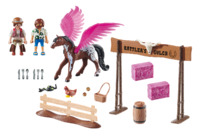 Playmobil: The Movie - Marla & Del with Pegasus (70074)