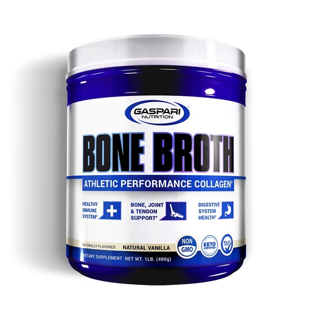 Gaspari: Bone Broth Collagen - Vanilla (30 Serve)