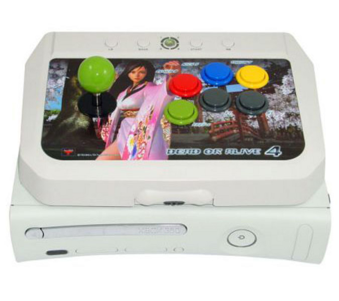 Dead or Alive 4 Arcade Fighting Stick for Xbox 360 image