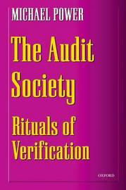 The Audit Society by Michael Power image