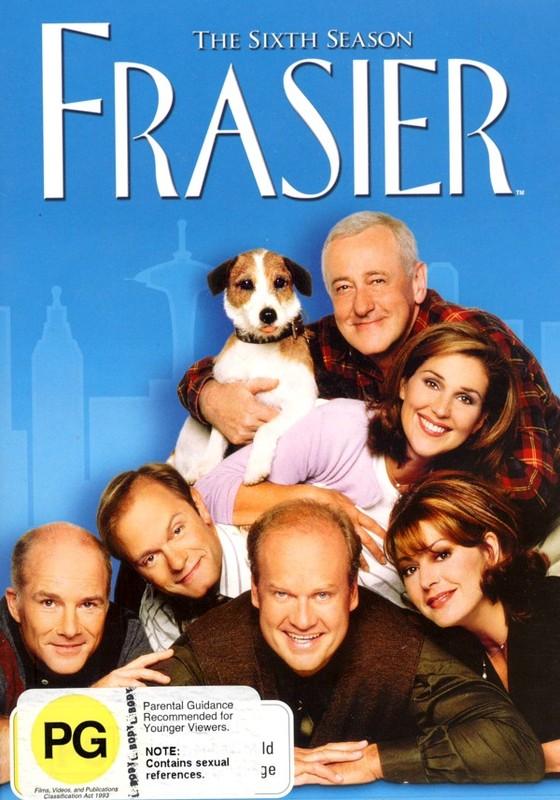 Frasier - Season 6 on DVD