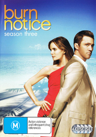 Burn Notice - Season Three on DVD