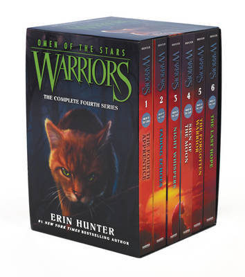 Warriors: Omen of the Stars Box Set: Volumes 1 to 6 by Erin Hunter image