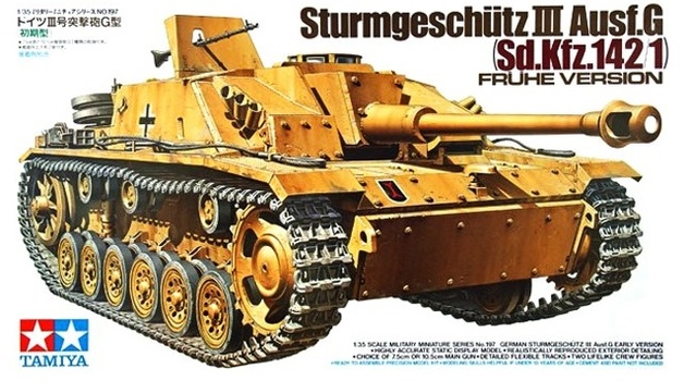Tamiya: 1/35 Sturmgeschutz III Ausf G (Early Ver.) - Model Kit