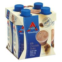 Atkins Advantage RTD Shake - Milk Chocolate (4 x 325ml)