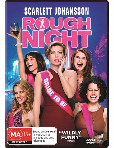 Rough Night on DVD image
