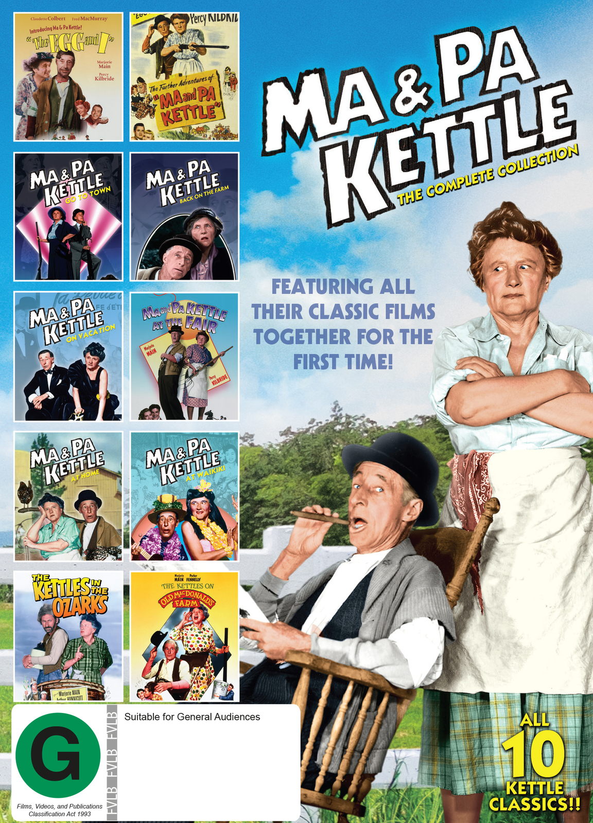 Ma & Pa Kettle - The Complete Collection on DVD image