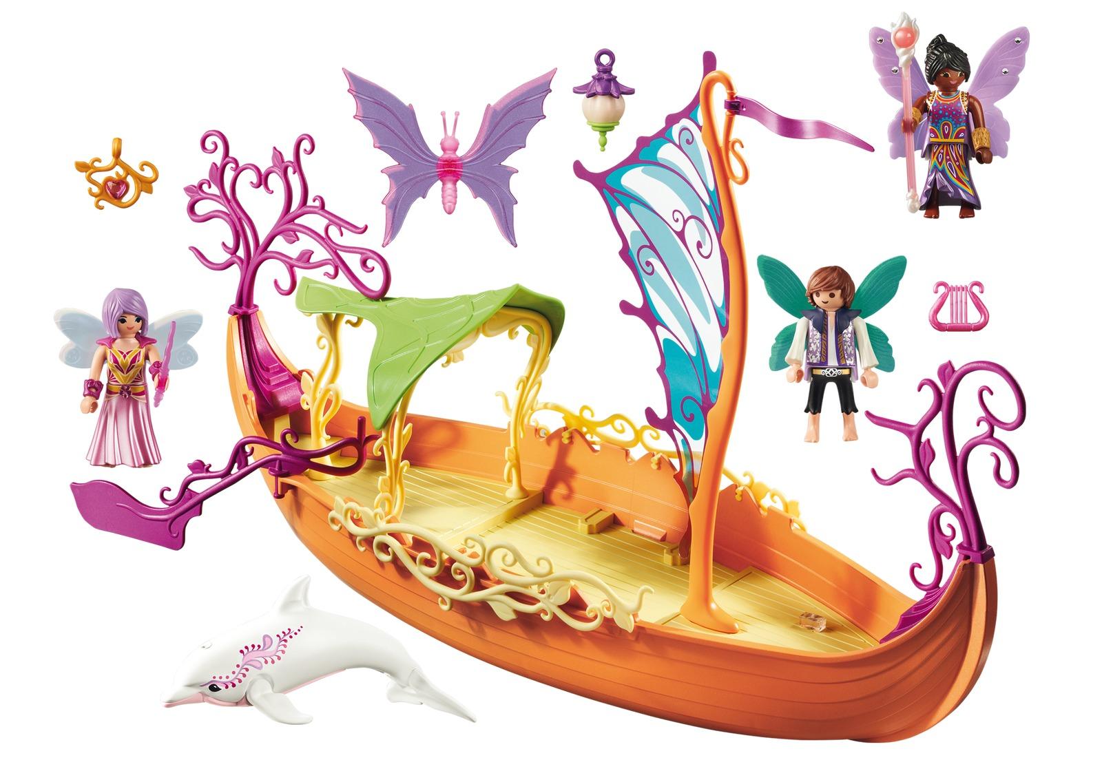 Playmobil - Enchanted Fairy Ship (9133) image