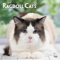 Ragdoll Cats 2019 Square Wall Calendar by Inc Browntrout Publishers image