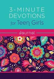 3-Minute Devotions for Teen Girls Journal by Compiled by Barbour Staff
