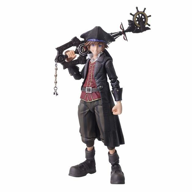 Kingdom Hearts III: Sora Pirates of the Caribbean Ver - Bring Arts Figure