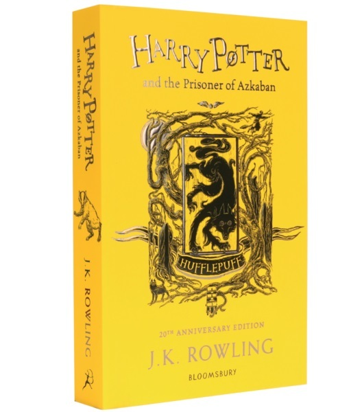 Harry Potter and the Prisoner of Azkaban – Hufflepuff Edition (Paperback) by J.K. Rowling