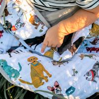 Little Unicorn: Cotton Muslin Quilt - Woof image