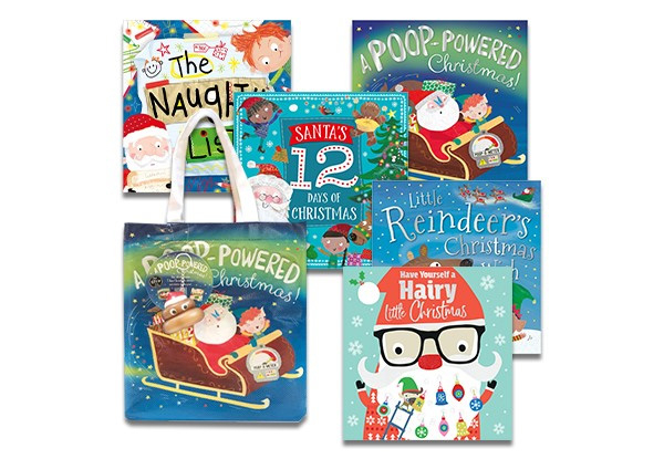Christmas Picture Book Set in Bag