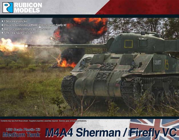 Rubicon 1/56 M4A4 Sherman / Firefly VC