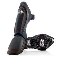 Punch: Black Diamond Shin Pads - XL (Black/Orange)