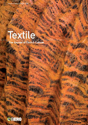 Textile: The Journal of Cloth and Culture