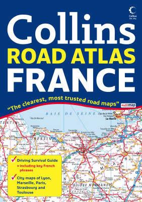 Collins Road Atlas France