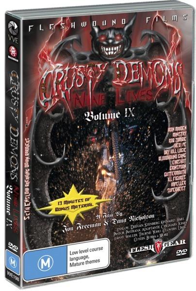 Crusty Demons: Volume 9 - Nine Lives on DVD