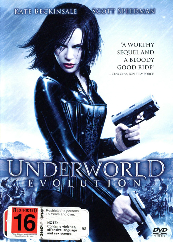 Underworld - Evolution on DVD