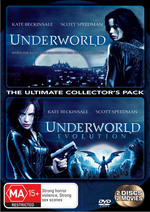 Underworld / Underworld: Evolution - The Ultimate Collector's Pack (2 Disc Set) on DVD
