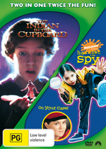 Indian In The Cupboard / Harriet The Spy (2 Disc Set) on DVD