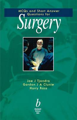 MCQs and Short Answer Questions for Surgery by Joe Tjandra image