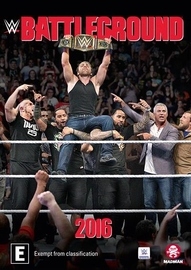 WWE: Battleground 2016 on DVD