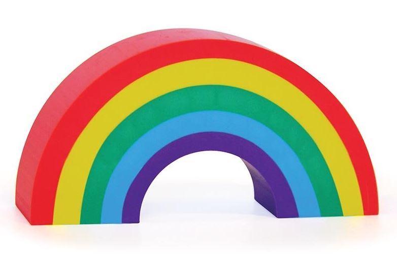 Erase It Extra Large - Rainbow Eraser image