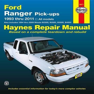 Ford Ranger Automotive Repair Manual by Haynes Publishing