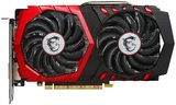MSI GeForce GTX 1050 TI Gaming X 4GB Graphics Card