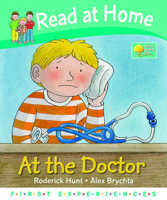 Read at Home: First Experiences: at the Doctor by Roderick Hunt image