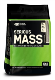 Optimum Nutrition Serious Mass - Cookies & Cream (5.44kg)