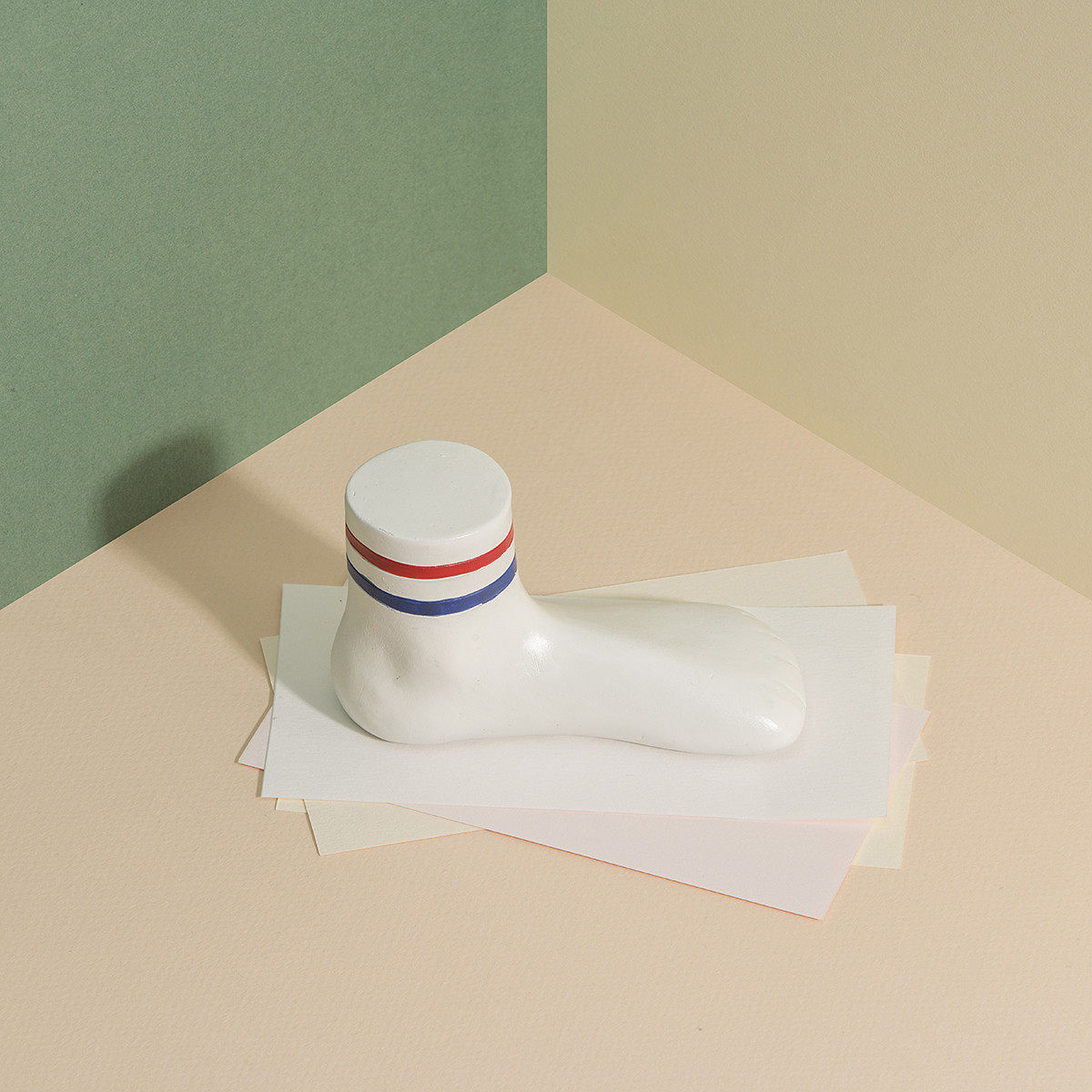 Unboring Paperweight Sock image